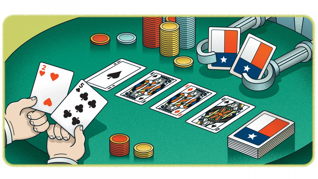 The Wonderful World of Online Texas Hold'em Poker